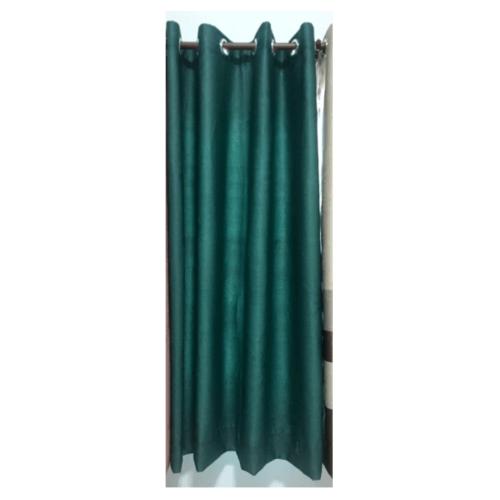 Davinci ผ้าม่านประตู ขนาด (150 x 250 ซม.) 3903-5 สีเขียวเข้ม