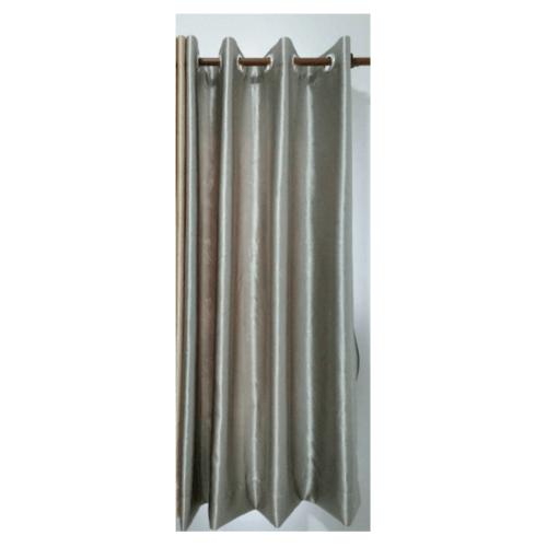 Davinci ผ้าม่านหน้าต่าง ขนาด (150 x 160 ซม.) Y6079-5  สีเทา