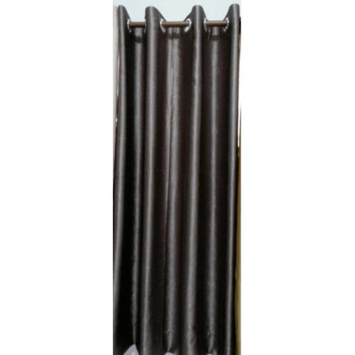 Davinci ผ้าม่านประตู ขนาด (150 x 250 ซม.) Y6071-2 สีเทาดำ