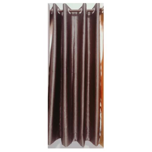 Davinci ผ้าม่านหน้าต่าง ขนาด (150 x 160 ซม.) Y6002-10 สีน้ำตาลแดง
