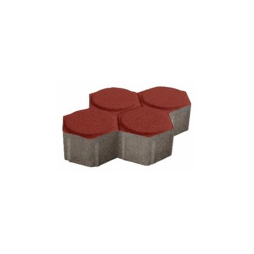 Dura one บล็อกรวงผึ้ง  ขนาด 6 ซม.  สีแดง
