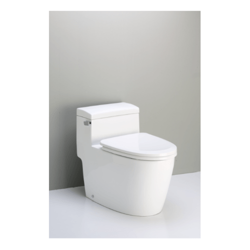 MOGEN โถสุขภัณฑ์ชิ้นเดียว(ฝา Slow Close) MO42  (Eco) สีขาว