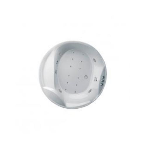 MOGEN อ่างอาบน้ำวน-อัดอากาศ พร้อมสะดืออ่างอาบน้ำ (แบบฝัง)     MB18A แอทเทน  สีขาว