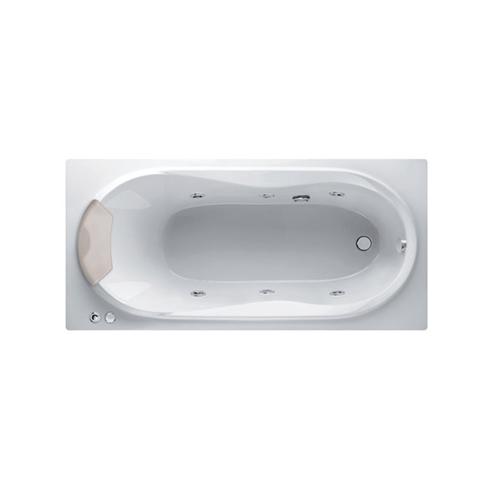 MOGEN อ่างอาบน้ำวนพร้อมหมอนหนุน   MB20P