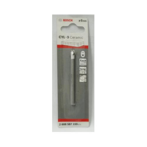 BOSCH ดอกเจาะกระเบื้อง  Tile drill bit 4 x 70 mm (1) เทา-ขาว