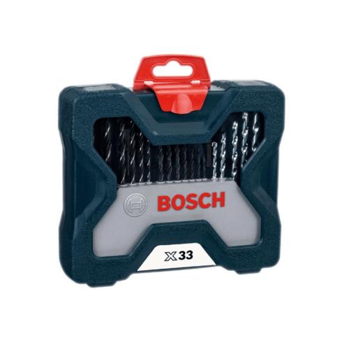 BOSCH ชุดดอกเจาะ  XLine 33Pcs สีน้ำเงิน