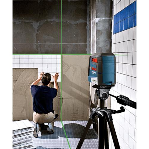 BOSCH เครื่องวัดระดับเลเซอร์ แสงสีเขียว GLL 30 G สีน้ำเงิน