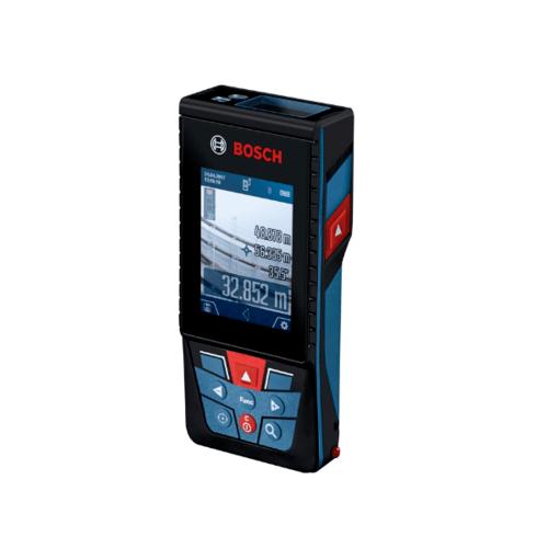BOSCH เครื่องวัดระยะเลเซอร์พร้อมหน้าจอดิจิตอล  GLM 150 C  สีน้ำเงิน
