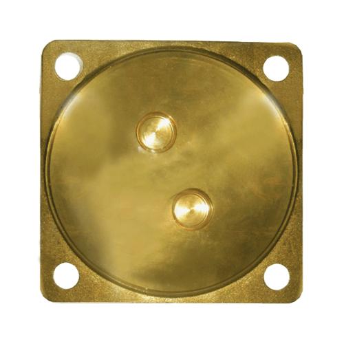 IRIS ฝาปิดส้วมทองเหลือง  BRASSLID4-IRIS