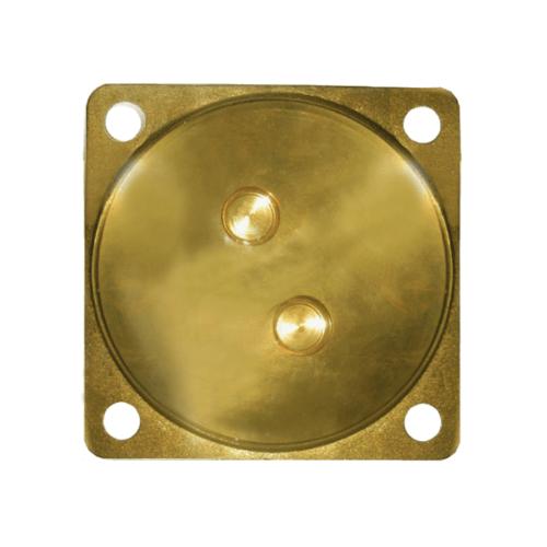IRIS ฝาปิดส้วมทองเหลือง 6 -