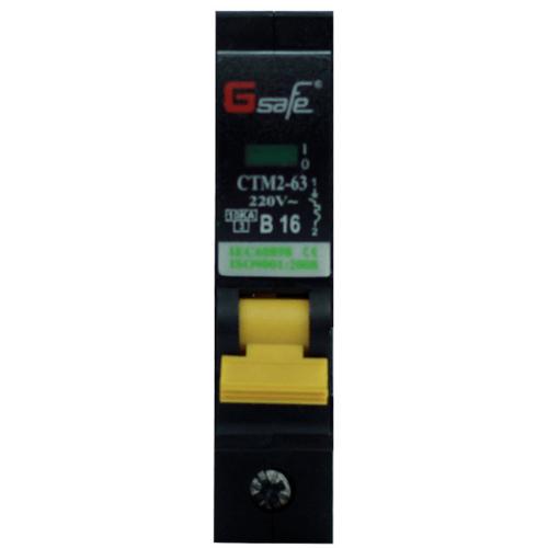 Gsafe CTM2-63c 1P 1P 16A ดำ
