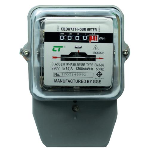 CT มิเตอร์ไฟฟ้า EM3-86 5/15A