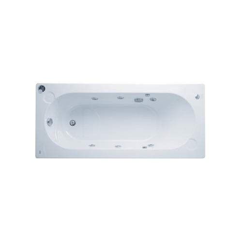 American Standard อ่างอาบน้ำวนแซทเทิร์น-แอลเฉพาะอ่าง  8250100-WT สีขาว