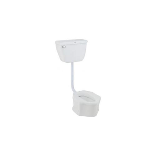 American Standard ชุดสุขภัณฑ์นั่งยองมีฐานแบบฟลัช สีขาว 100FP/T-WT-0 100FP/T-WT-0 สีขาว
