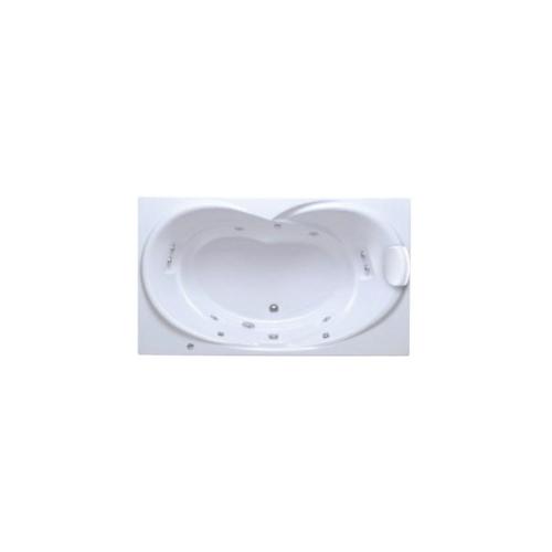 American Standard อ่างอาบน้ำซาโวน่าเหลี่ยม 7280100-WT สีขาว