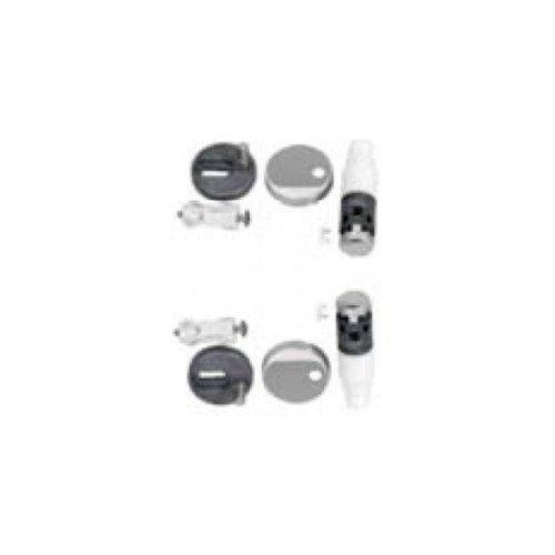 American Standard ชุดหูฝารองนั่ง No.58s รุ่น PC-580300S PC-580300S สีโครเมี่ยม