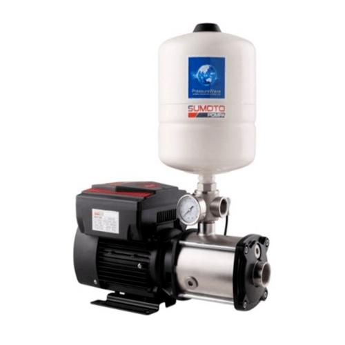 SUMOTO POMPA  ปั๊มน้ำอัตโนมัติระบบอินเวอร์เตอร์ 1000 วัตต์  MVS 505 สีดำ