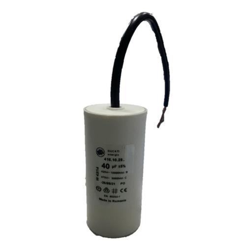 DUCATI คาพาซิเตอร์ 40uf แบบสาย DU-102910 -