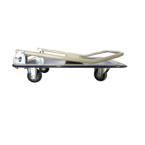 JUMBO รถเข็นเอนกประสงค์ ชั้นเดียวพับได้ 220 กก.  HL-110J ครีม-น้ำเงิน