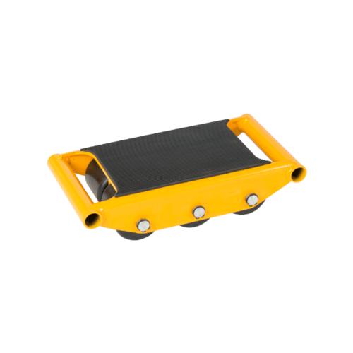 JUMBO FXS-06 ล้อโรลเล่อร์เดี่ยว รับน้ำหนัก 6 ตัน FXS-06 สีเหลือง