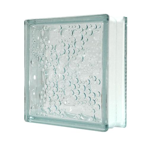 ช้างแก้ว บล็อกแก้วใส ฟองแก้ว ( 240 x 240 x 80 mm )  N-008/11 CK Worth