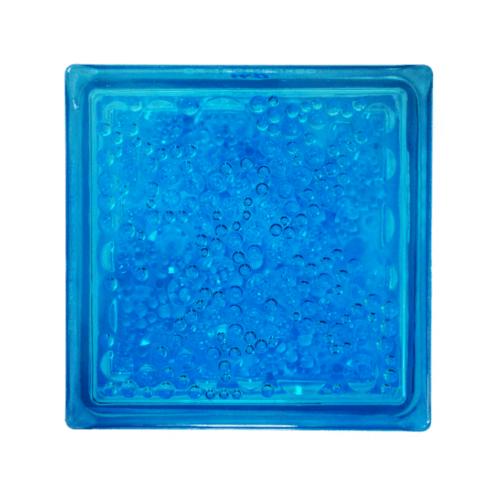 ช้างแก้ว บล็อกแก้วสี  ฟองแก้ว   N-008/941  สีฟ้า