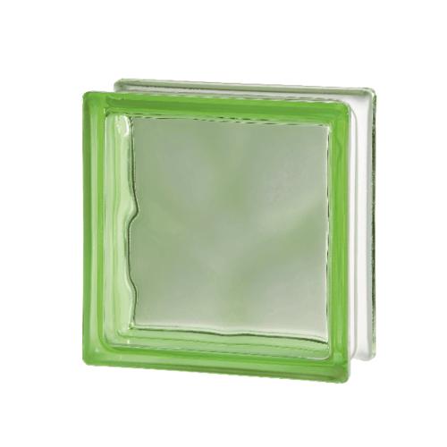 ช้างแก้ว บล็อกแก้วสี แก้วเมฆา  I-018/203 สีเขียว