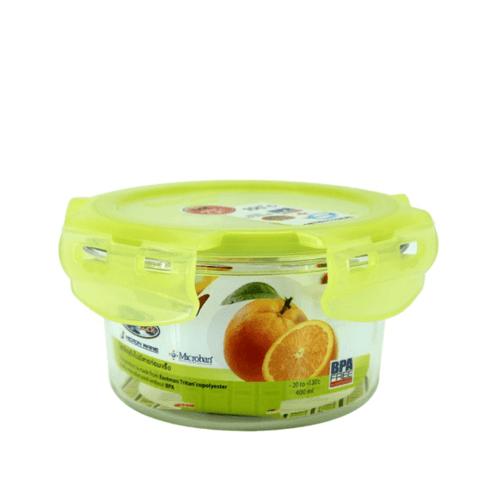 Super Lock Set กล่องถนอมอาหาร Tritan 400ml.รุ่น6881 สีเขียว 6881