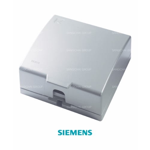 SIEMENS ฝากันน้ำสำหรับสวิตซ์ DELTA azio ขนาด 120 มม. สีเงิน 5TG9 862-4PB01 silver