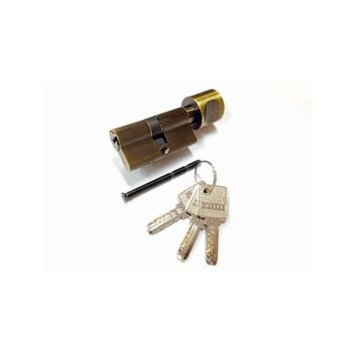 HAFELE  ไส้กุญแจหางปลาบิด ระบบ10พิน สีทองเหลืองรมดำ  916.86.945