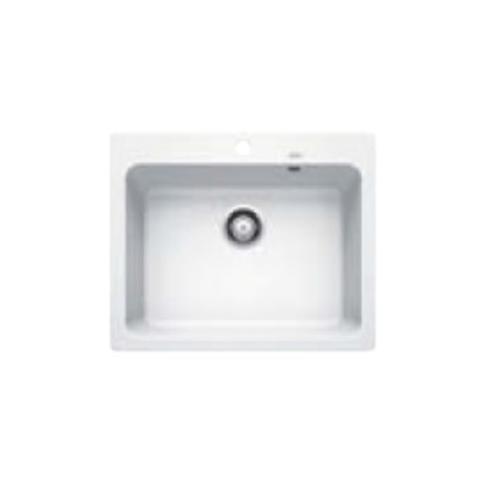 HAFELE อ่างล้างจาน 1 หลุมไม่มีที่พัก   BLANCONAYA 6  สีขาว