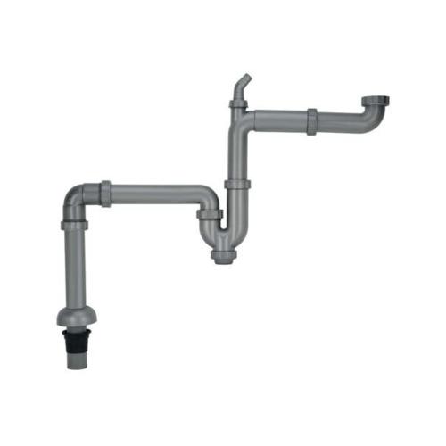 HAFELE  ชุดระบบระบายน้ำทิ้งสำหรับอ่างล้างจาน หลุมเดียว  495.41.053