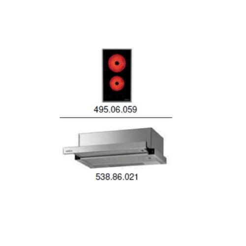 HAFELE ชุดเช็ตเครื่องดูดควัน+เตาแก๊ส SET 8  495.06.918