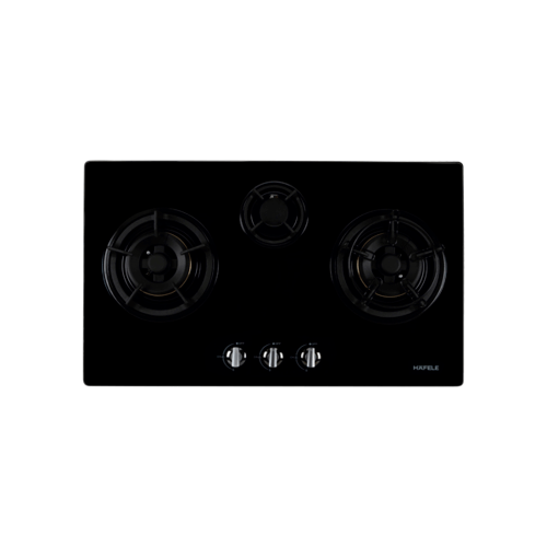 HAFELE เตาแก๊ส 3หัว HH-783GGD  495.06.007 สีดำ