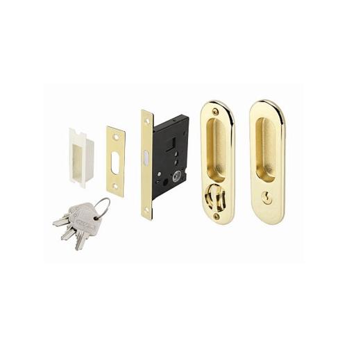 HAFELE HAFELE มือจับประตูบานเลื่อนซิงค์อัลลอยด์ทางเข้า 499.65.090 สีทองเหลืองเงา  499.65.090