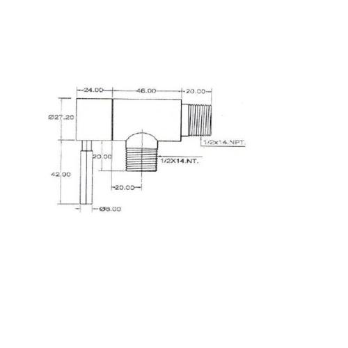 HAFELE วาล์วเปิด-ปิดน้ำ สแตนเลส  495.60.007 สีโครเมี่ยม