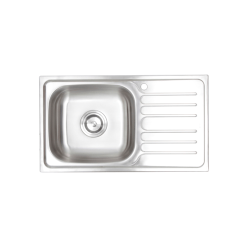 HAFELE อ่างล้างจาน 1 หลุมมีที่พักขวา 495.39.285 HAFELE 495.39.285