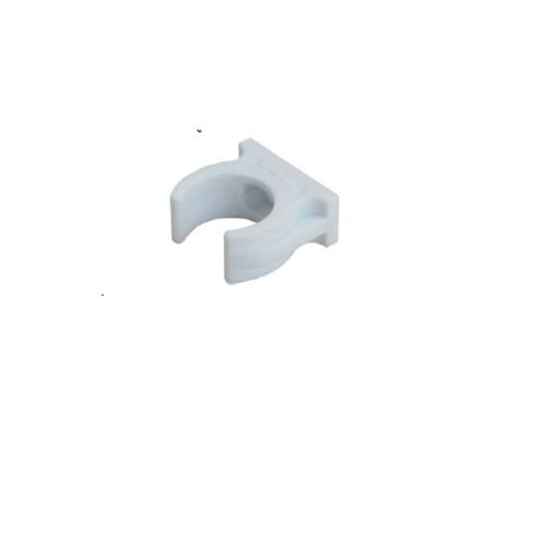 HAFELE ก้ามปูรดท่อ 4 หุน ( 1 แพ็ค5 ชิ้น )  485.61.233 สีขาว