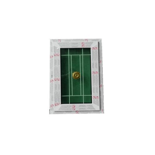 RKT ช่องแสงบานปิดตายกระจก 2 ชั้น ขนาด 105*199 cm WDI สีขาว