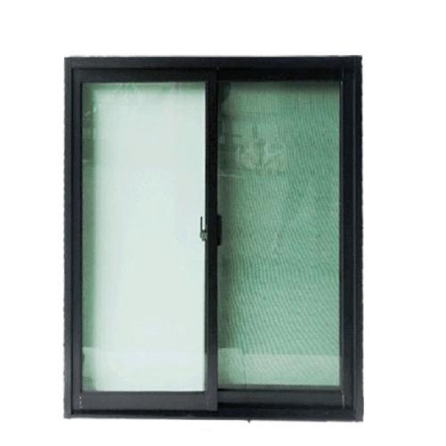 Wellingtan ประตูไวนิลบานเลื่อน ขนาด  200cm.x205cm.  พร้อมมุ้ง  SS WELL สีดำ