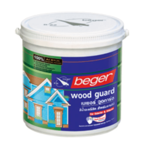 Beger สีน้ำอะครีลิกวู้ดการ์ด NO.9131 เบเยอร์ (Russet) WOOD GUARD No.9131