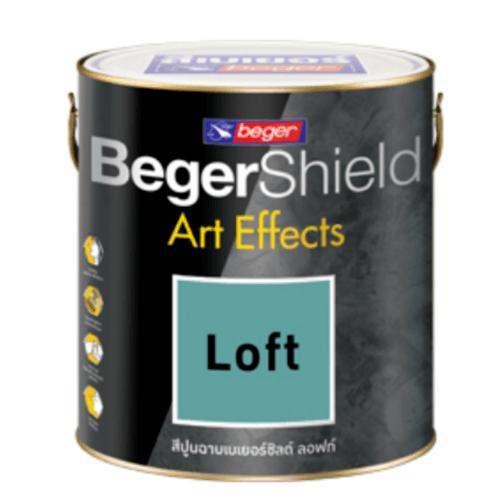 Beger สีเบเยอร์ชิลด์ อาร์ท เอฟเฟ็กซ์ ลอฟท์  # AF-0103 Dark Grey 1GL