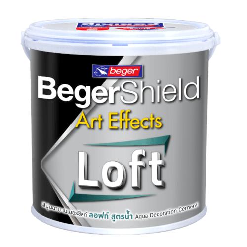 Beger ชิลด์ อาร์ท เอฟเฟ็กต์ อควา ลอฟท์ (สูตรน้ำ)  #AAF-0101 Natural Grey Set