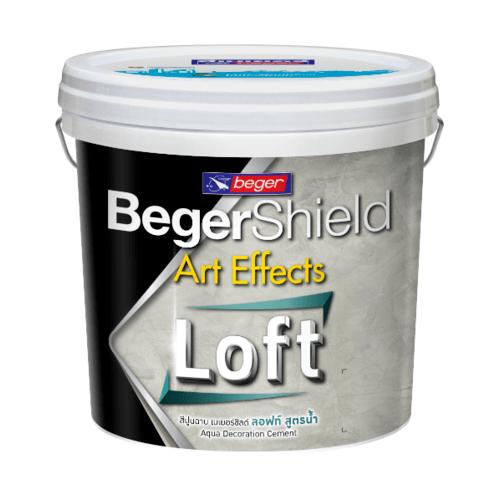 Beger ชิลด์ อาร์ท เอฟเฟ็กต์ อควา ลอฟท์ (สูตรน้ำ)  #AAF-0102  Light Grey  SET