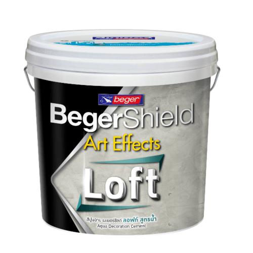 Beger ชิลด์ อาร์ท เอฟเฟ็กต์ อควา ลอฟท์ (สูตรน้ำ)  #AAF-0103 Dark Grey SET