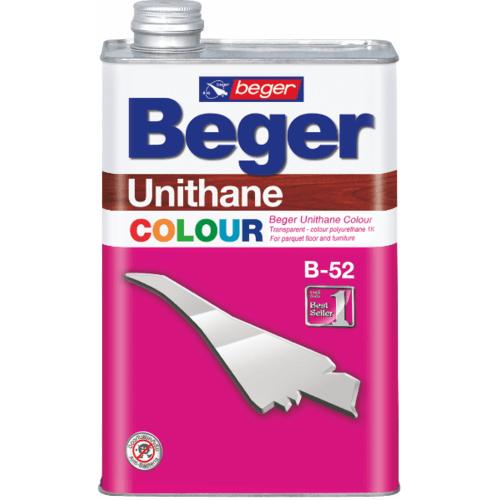 Beger ยูนีเทนสีโพลี U-307สีเขียวใบไม้1/4 กล.