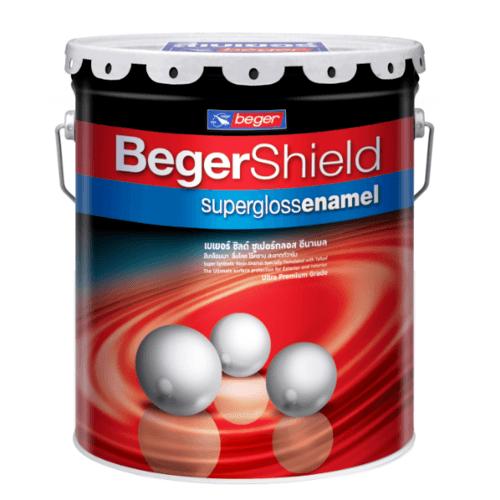 Beger สีรองพื้นไม้กันเชื้อรา  เบเยอร์ชิลด์ 5กล. B-966