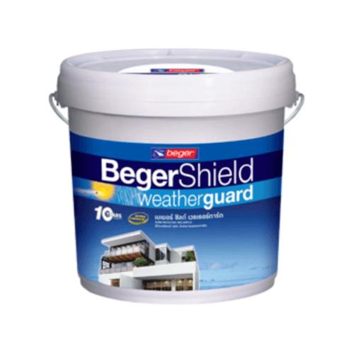 BEGER สีน้ำอะครีลิก เบส D เบเยอร์ชิลด์ (Satin) ถัง  -