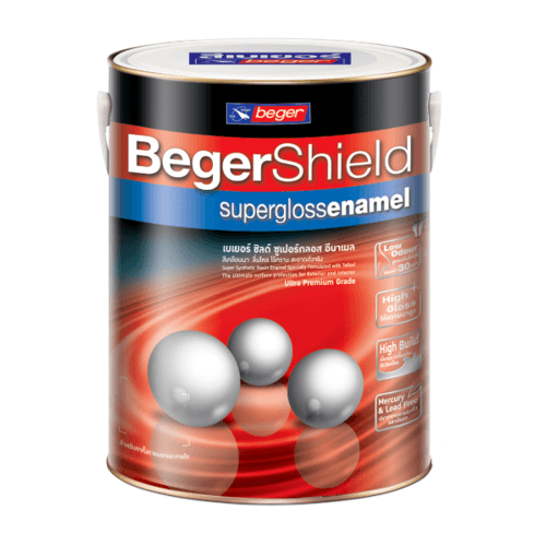 Beger สีน้ำมันเคลือบเงา เบส A Beger Shield (NEW) กป. -