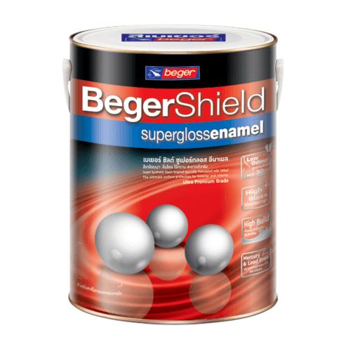 Beger สีน้ำมันเคลือบเงา เบส A Beger Shield (NEW) กล. -